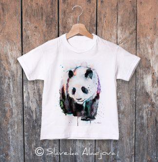 детска тениска панда 2