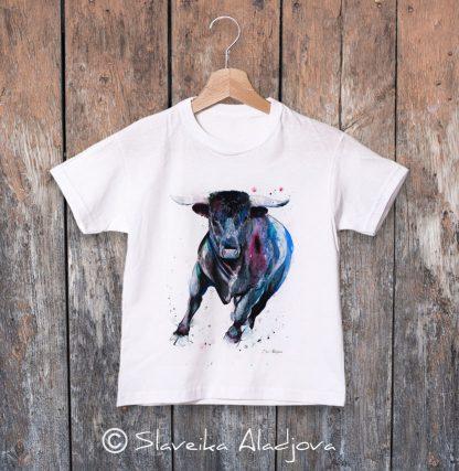 детска тениска бик