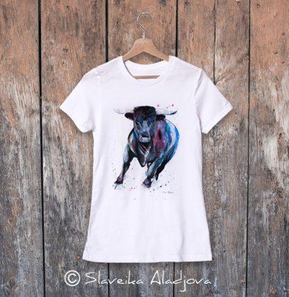 дамски тениска с бик