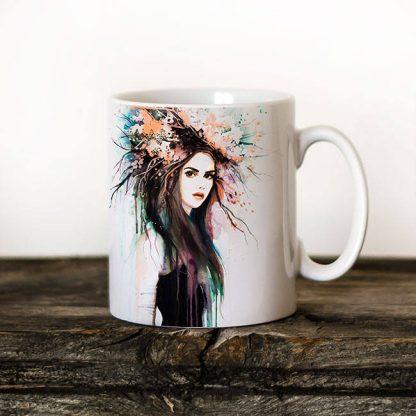 чаша модерна жена
