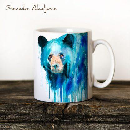 чаша мечка черна