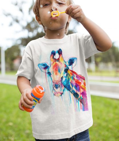 Детска тениска жираф