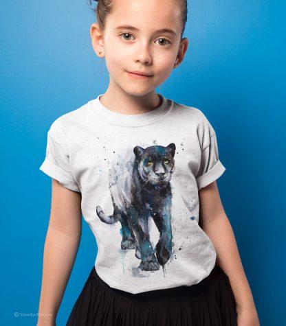 детска тениска черна пантера