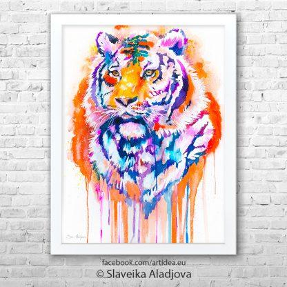 картина тигър