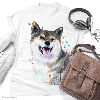 тениска с акита 3