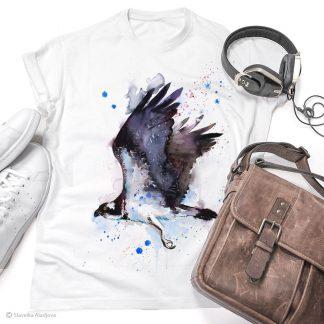 Тениска с орел рибар