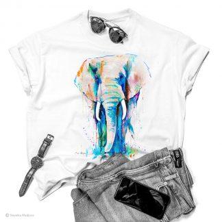 Тениска с африкански слон