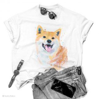 Тениска с акита