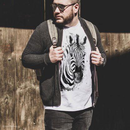 Тениска със зебра