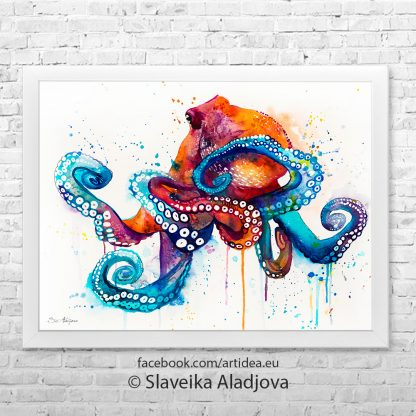 картина на октопод