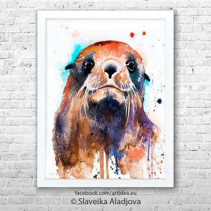 картина тюлен