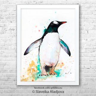картина на пингвин 2