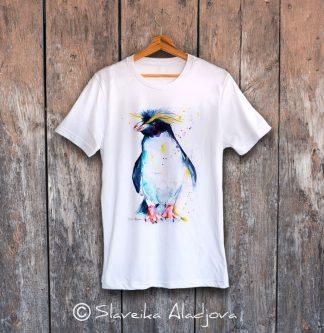 мъжка тениска с пингвин 4