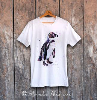 мъжка тениска с пингвин 3