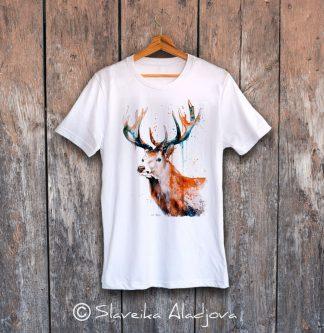 дамска тениска с елен