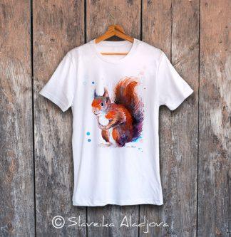 мъжка тениска с катерица