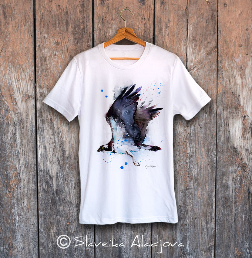 мъжка тениска орел рибар