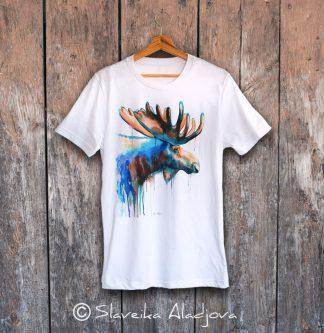 мъжка тениска с лос