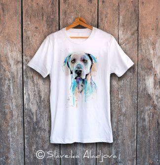 мъжка тениска с ваймаранер