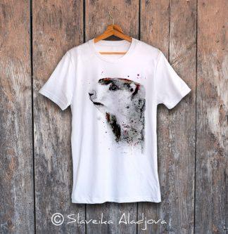 мъжка тениска с лемур