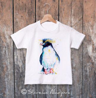 детска тениска с пингвин 4