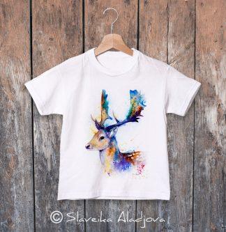 детска тениска елен лопатар