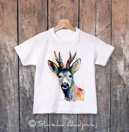 детска тениска с елен 2