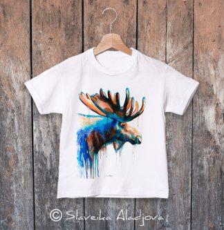 детска тениска с лос