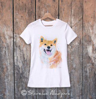 дамска тениска акита 2