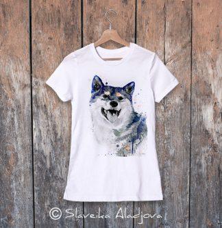 дамска тениска акита 3