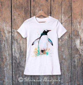 дамска тениска пингвин 2