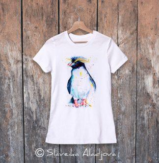дамска тениска пингвин 4