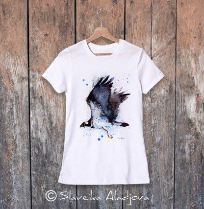 дамска тениска орел рибар