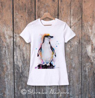 дамска тениска пингвин 7