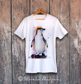 мъжка тениска с пингвин 7