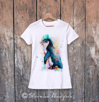 дамска тениска пингвин 5
