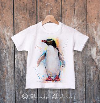 детска тениска с пингвин 6