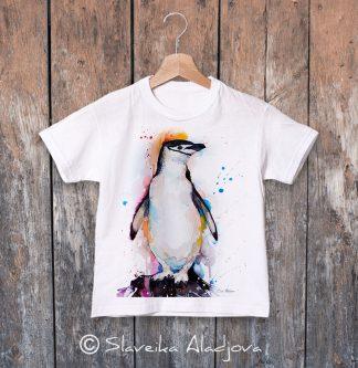 детска тениска с пингвин 7