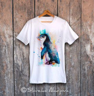 мъжка тениска с пингвин 5