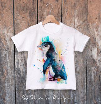 детска тениска с пингвин 5