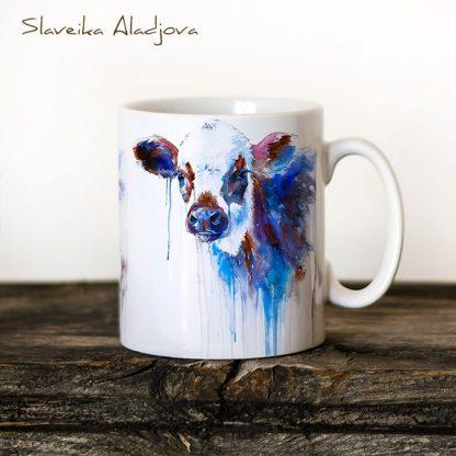 чаша с крава