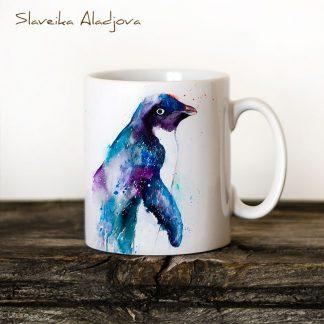 чаша пингвин