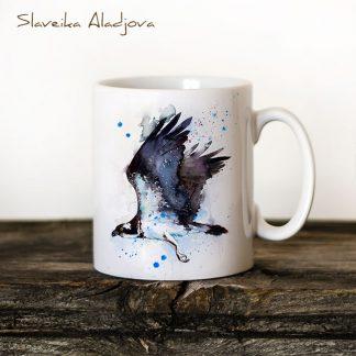 чаша орел рибар