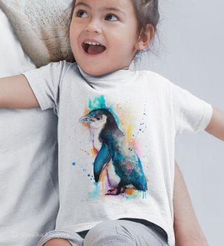 детска тениска с пингвин