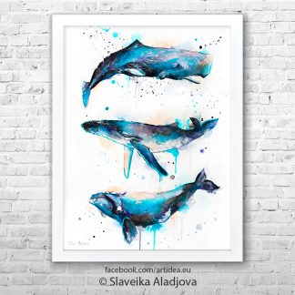 картина на китове