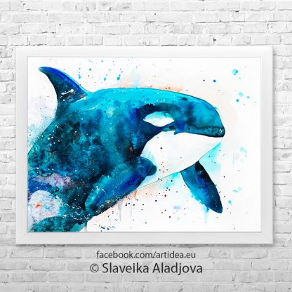картина на кит орка