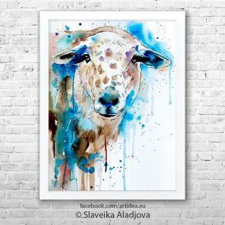 картина на овца