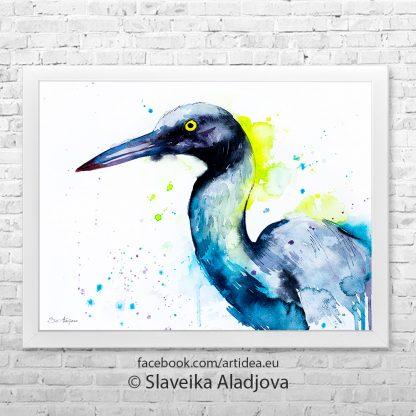 картина на пеликан