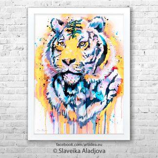 картина на тигър
