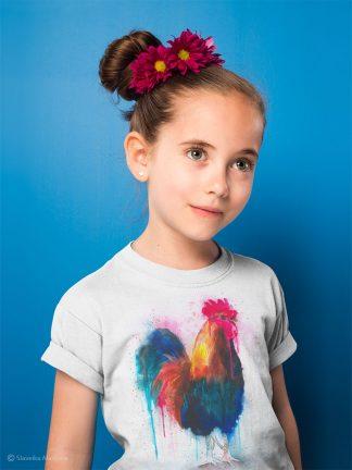 Детска тениска с петел